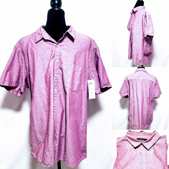 Marc Anthony Other - Marc Anthony Slim Fit Plum Button Down XXL🦅